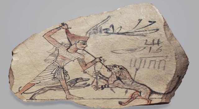 الأوستراكا..قطع فخار محروق تحولت لأعمال فنية عاشت لآلاف السنين