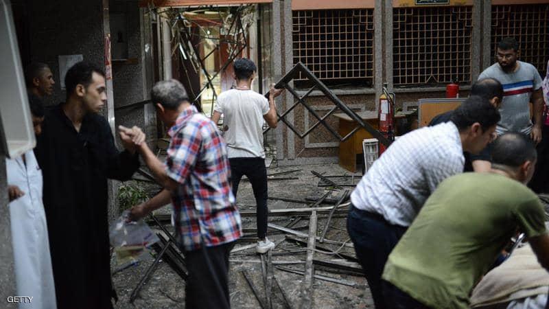 مصر.. مصرع 7 مصابين بفيروس كورونا بحريق في مستشفى