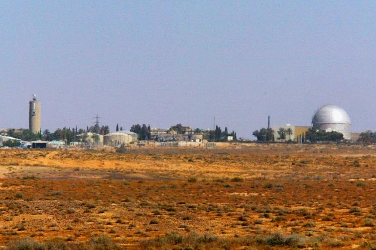 سقوط صاروخ سوري قرب ديمونا بعد اعتداء اسرائيلي عليها