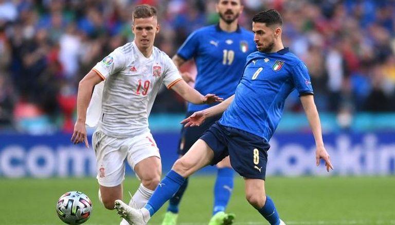 إيطاليا تهزم اسبانيا وتصعد إلى نهائي كأس الأمم الأوروبية