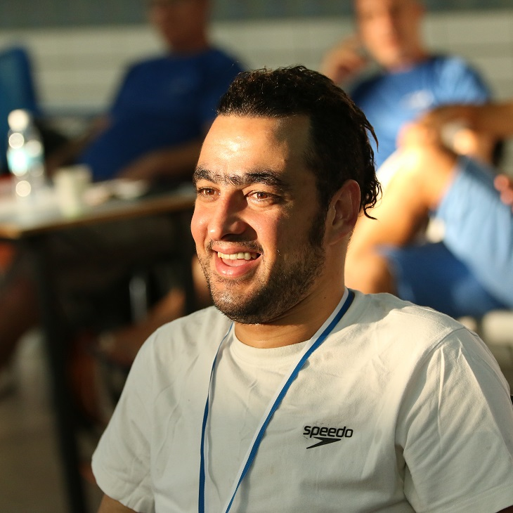 إياد شلبي يحصل على أول ميدالية ذهبية لإسرائيل من المجتمع العربي